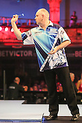 Ian White during the First Round of the BetVictor World Matchplay Darts at the Empress Ballroom, Blackpool, United Kingdom on 19 July 2015. Photo by Shane Healey.