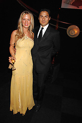KARIM & GEORGINA JUMA at the British Red Cross Gala Ball 2007 themed 'East Meets West' held at Old Billingsgate, 16 Lower Thames Street, London on 5th June 2007.<br /><br />NON EXCLUSIVE - WORLD RIGHTS