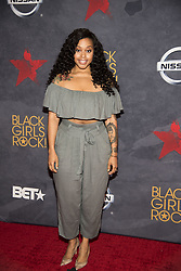 August 6, 2017 - New Jersey, U.S - CHRISETTE MICHELE, at the Black Girls Rock 2017 red carpet. Black Girls Rock 2017 was held at the New Jersey Performing Arts Center in Newark New Jersey. (Credit Image: © Ricky Fitchett via ZUMA Wire)