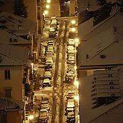 Panoramiche di Torino sotto la neve.<br /> Turin under snow.