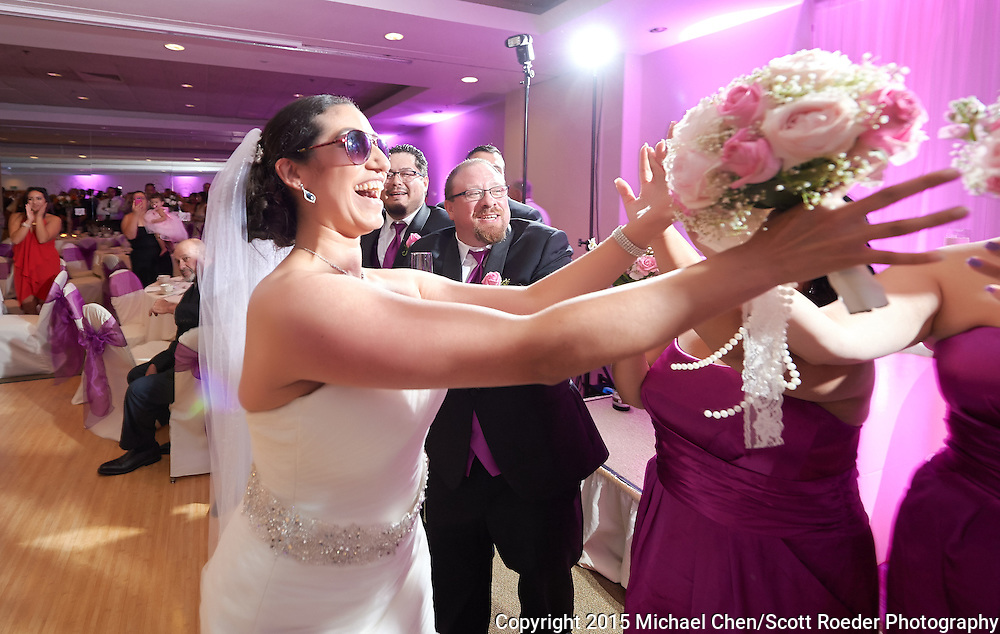 2015/10/10 -- Alicia &amp; Anthony -- Alicia and Anthony Wedding; ceremony at St. Dunstan Church in Millbrae, Calif., and reception at the Clubhouse in Boundary Oak in Walnut Creek, Calif., on Oct. 10, 2015. #aavallewedding<br /> <br /> Photo by Michael Chen/Scott Roeder Photography