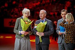 L'Année Hippique Awards<br /> Mrs. Jane Tuckwell, Torgerson Thomas, Mronz Michael<br /> CHI Genève 2019<br /> © Hippo Foto - Dirk Caremans<br />  14/12/2019