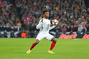 England Forward Daniel Sturridge during the FIFA World Cup Qualifier group stage match between England and Scotland at Wembley Stadium, London, England on 11 November 2016. Photo by Phil Duncan.