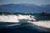 Surfing Tahoe's West Shore