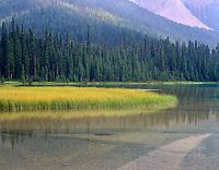 Emerald Lake, Yoho National Park British Columbia USA