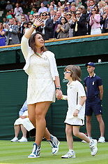 JUN 24 2014 Wimbledon Tennis Championships-Day 2