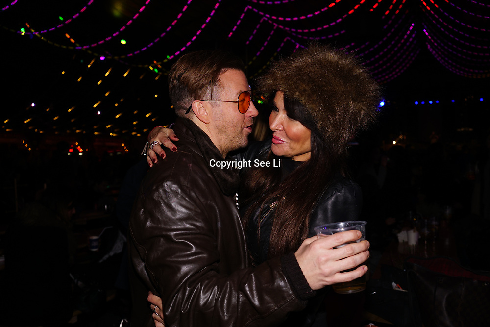 London, England, UK. 16th November 2017. Lizzie Cundy attend the VIP launch of Hyde Park Winter Wonderland 2017 for a preview. tomorrow is opening for the public