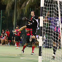 Singapore Polytechnic, Saturday, Oct 5, 2013 &mdash; Singapore Polytechnic (SP) relied on fundamentally sound defence to get past the Institute of Technical Education (ITE) 33&ndash;17 in the 3rd Invitational Handball Games.<br />