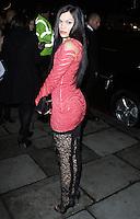 Jessie J, Elle Style Awards 2014, One Embankment, London UK, 18 February 2014, Photo by Brett D. Cove