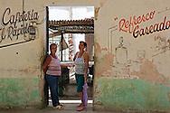 Cafe in Bocas, Holguin, Cuba.