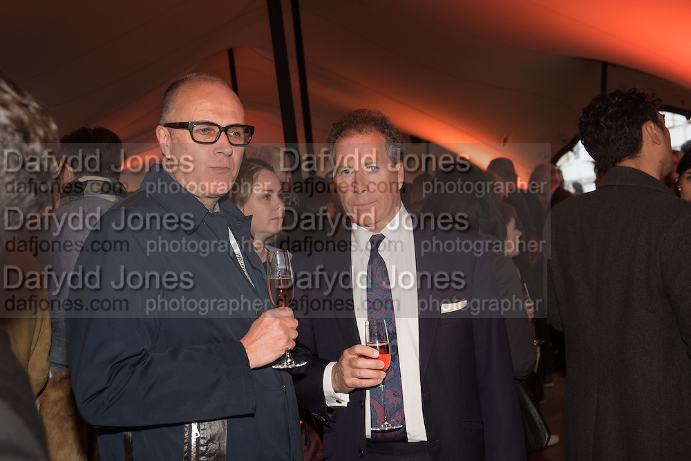 NICK HOUGH; VISCOUNT LINLEY, Opening of Photo London,  Somerset House. London. 20 May 2015