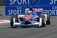 DURBAN, South Africa, Team GBR pushed to the back during first qualifying after failing to notice a yellow flag eventually secured themselves second row on the grid for the Feature Race of the A1GP in Durban, South Africa on Sunday 24 February 2008.  Photo: SportsPics/SPORTZPICS