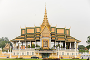 14 MARCH 2006 - PHNOM PENH, CAMBODIA: The Royal Palace, home of the Cambodian Monarchy in Phnom Penh, Cambodia. Photo by Jack Kurtz / ZUMA Press