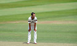 Dejection for Somerset's Lewis Gregory - Photo mandatory by-line: Harry Trump/JMP - Mobile: 07966 386802 - 07/07/15 - SPORT - CRICKET - LVCC - County Championship Division One - Somerset v Sussex- Day Three - The County Ground, Taunton, England.