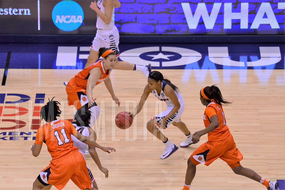 "4 SYRACUSE VS. 1 UCONN 2016 NCAA.DIVISION ""Women's Final Four, National Championship<br /> Bankers Life Fieldhouse<br /> Indianapolis Indiana, 4/5/16"