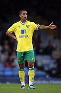 Picture by Paul Chesterton/Focus Images Ltd.  07904 640267.28/7/11 .Kyle Naughton of Norwich City during a pre season friendly at Roots Hall Stadium, Southend...