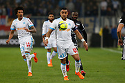 Dimitri Payet of Olympique de Marseille during the French Championship Ligue 1 football match between Olympique de Marseille and Olympique Lyonnais on march 18, 2018 at Orange Velodrome stadium in Marseille, France - Photo Philippe Laurenson / ProSportsImages / DPPI