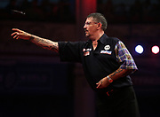 Gary Anderson during the World Matchplay Darts 2019 at Winter Gardens, Blackpool, United Kingdom on 23 July 2019.