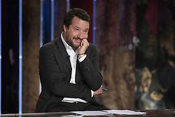 Italy, Rome -  April 29, 2019.Matteo Salvini, Deputy Prime Minister of Italy and Minister of the Interior guest at 'Povera Patria' (Poor Fatherland) TV talk show (Credit Image: © Mistrulli/Fotogramma/Ropi via ZUMA Press)