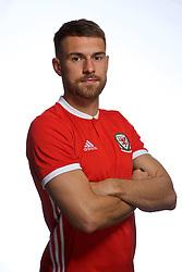 CARDIFF, WALES - Tuesday, September 4, 2018: Wales' Aaron Ramsey. (Pic by David Rawcliffe/Propaganda)