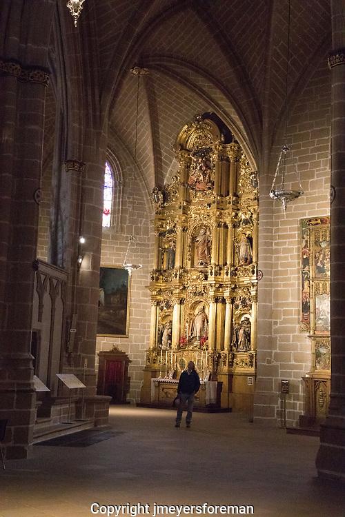 Santa Maria la Real, Pamplona Cathedral, Interior
