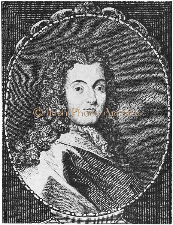 Nicholas Lemery (1645-1715) French chemist. From Alexandre Saverien 'Histoire des Philosophes Modernes', Paris, 1762