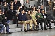 DESCRIZIONE : Roma Lega A 2014-15 <br /> Acea Virtus Roma - Sidigas Avellino <br /> GIOCATORE : Gianfranco Tobia Claudio Toti Sergio D'Antoni <br /> CATEGORIA : vip presidente pubblico tifosi <br /> SQUADRA : Acea Virtus Roma<br /> EVENTO : Campionato Lega A 2014-2015 <br /> GARA : Acea Virtus Roma - Sidigas Avellino <br /> DATA : 04/04/2015<br /> SPORT : Pallacanestro <br /> AUTORE : Agenzia Ciamillo-Castoria/GiulioCiamillo<br /> Galleria : Lega Basket A 2014-2015  <br /> Fotonotizia : Roma Lega A 2014-15 Acea Virtus Roma - Sidigas Avellino