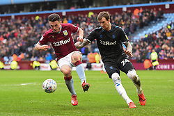 March 16, 2019 - Birmingham, England, United Kingdom - JohnMcGinn (7) of Aston Villa battles with Middlesbrough defender Aden Flint (24) during the Sky Bet Championship match between Aston Villa and Middlesbrough at Villa Park, Birmingham on Saturday 16th March 2019. (Credit Image: © Mi News/NurPhoto via ZUMA Press)