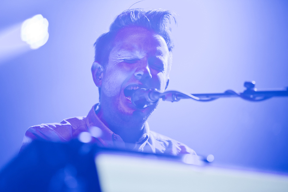 Alex Trimble of Two Door Cinema Club at The Riviera