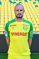 Nicolas Pallois during photoshooting of Fc Nantes for new season 2017/2018 on September 18, 2017 in Nantes, France. (Photo by Philippe Le Brech/Icon Sport)