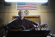 Kerby Ladner was among musicians playing at Blcackjack Connection at Blackjack Presbyterian Church near Sardis Lake on Monday, March 21, 2010.
