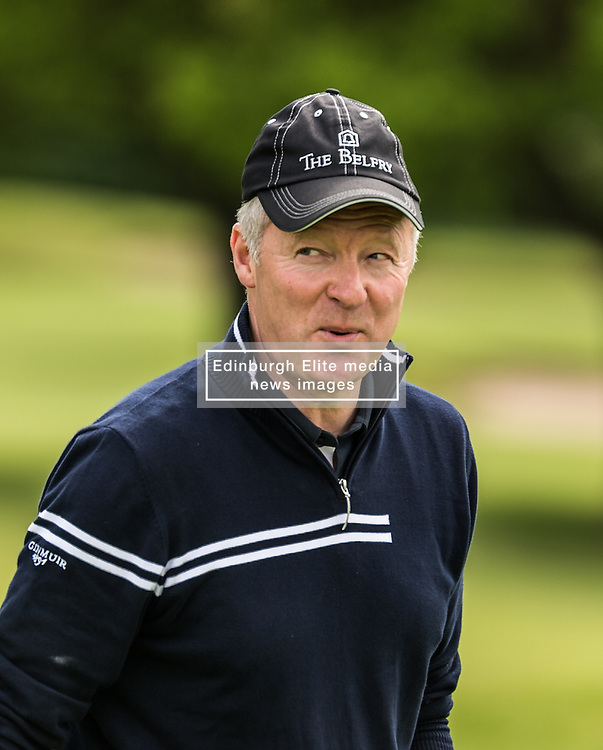 Rory Bremner The ISPS HANDA Mike Tindall Celebrity Golf Classic<br /> <br /> (c) John Baguley | Edinburgh Elite media