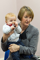 "© under license to London News Pictures. LONDON, UK. 25/02/14 Harriet Harman has said she ""regrets"" that a civil liberties group she used to work for had links to pro-paedophile campaigners in the 1970s and 1980s. FILE PICTURE DATED  14/11/2012 . Manchester , UK . The Deputy Leader of the Labour Party , HARRIET HARMAN , plays with a child at a Sure Start centre at Manchester Town Hall , today (Wednesday 14th November 2012) . Harriet Harman joins Lucy Powell who is standing for the constituency of Manchester Central in the city's upcoming by-election . Photo credit : Joel Goodman/LNP"