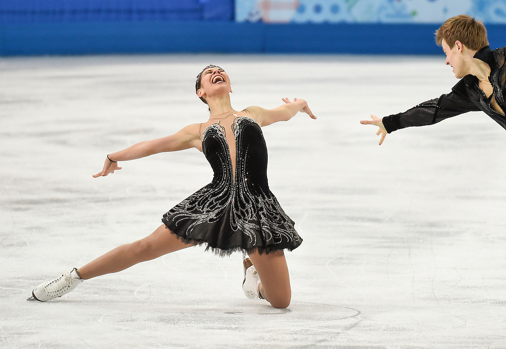 Sochi 2014 Winter Olympic Games: Ice dance-free dance