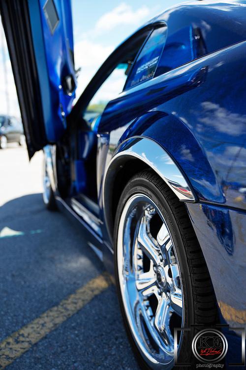 A custom 1999 Mustang