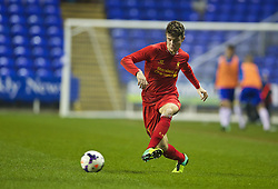 READING, ENGLAND - Wednesday, March 12, 2014: Liverpool's Joe Maguire in action against Reading during the FA Youth Cup Quarter-Final match at the Madejski Stadium. (Pic by David Rawcliffe/Propaganda)