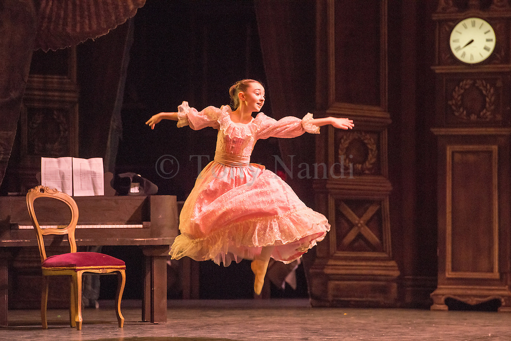English National Ballet present the Nutcracker at the London Coliseum.
