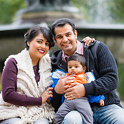 Garg family - Central Park, NY