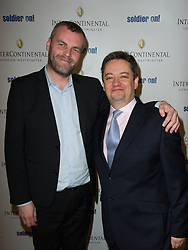 ConHome Editor Tim Montgomerie (left) with the hotel General Manager Andrew Coney attends the Opening of the Westminster InterContinental Hotel, Thursday February 28, Photo By Andrew Parsons / i-ImagesJon