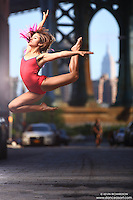 Dance As Art  New York City Photography Streets of Dumbo Series with Sarah Botero
