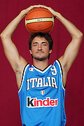 26/07/2005<br /> POSATI NAZIONALE ITALIANA MASCHILE <br /> NELLA FOTO: GIANMARCO POZZECCO<br /> FOTO CIAMILLO