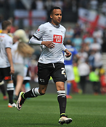 MARCUS OLSSON DERBY COUNTY, Derby County v Ipswich Town Championship, IPro Stadium, Saturday 7th May 2016. Photo:Mike Capps
