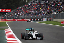Nico Rosberg (GER) Mercedes AMG F1 W07 Hybrid.<br /> 28.10.2016. Formula 1 World Championship, Rd 19, Mexican Grand Prix, Mexico City, Mexico, Practice Day.<br />  Copyright: Bearne / XPB Images / action press