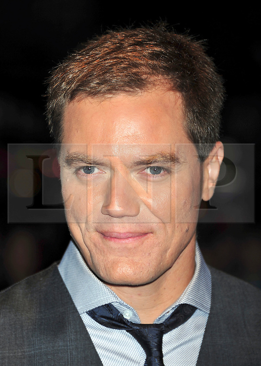 "© Licensed to London News Pictures. 21/10/2011. London,England. Michael Shannon attends the Premiere of ""Take Shelter"" at  the 55th British Film Festival in Leicester square London  Photo credit : ALAN ROXBOROUGH/LNP"