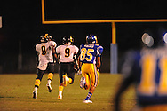 Oxford High vs. Charleston returning an interception for a touchdown in Oxford, Miss. on Friday, August 24, 2012. Oxford won 21-18 to improve to 2-0.