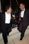 Al Franken, Bloomberg after-party,  Russian mansion, Washington Correspondents dinner, Washington Hilton, 26 April 2003. © Copyright Photograph by Dafydd Jones 66 Stockwell Park Rd. London SW9 0DA Tel 020 7733 0108 www.dafjones.com