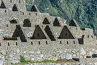 Palace of the princess Machu Picchu, Incas ruins in the peruvian Andes at Cuzco Peru
