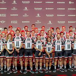 04-01-2018: Wielrennen: Presentatie Team Sunweb: Berlijn<br />The Worldchampion Team Trail Team Sunweb had a press presentation
