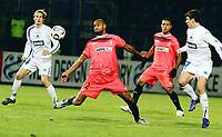 Fotball<br /> Foto: Dppi/Digitalsport<br /> NORWAY ONLY<br /> <br /> FOOTBALL - UEFA CUP 2006/2007 - GROUP STAGE - GROUP C - SLOVAN LIBEREC v FC SEVILLA - 19/10/2006<br /> <br /> FREDERIC KANOUTE (SEV) / TOMAS JANU (SLO)