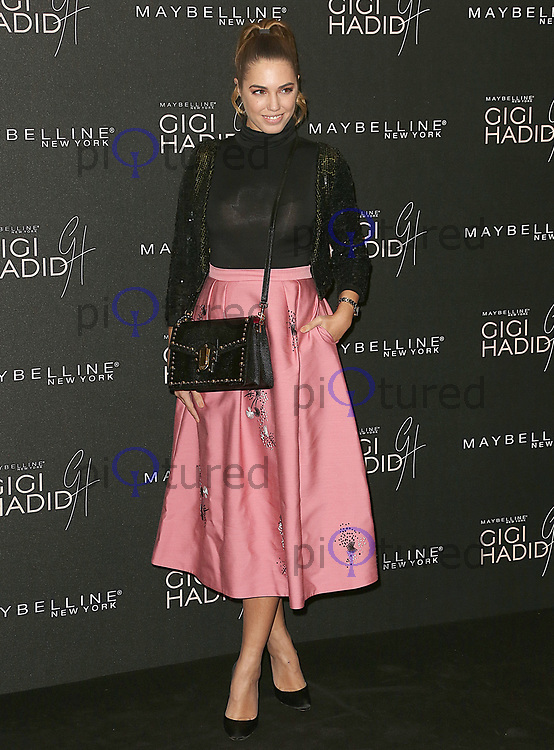 Amber Le Bon, Gigi Hadid x Maybelline Party, Hotel Gigi Mortimer Street, London UK, 07 November 2017, Photo by Brett D. Cove